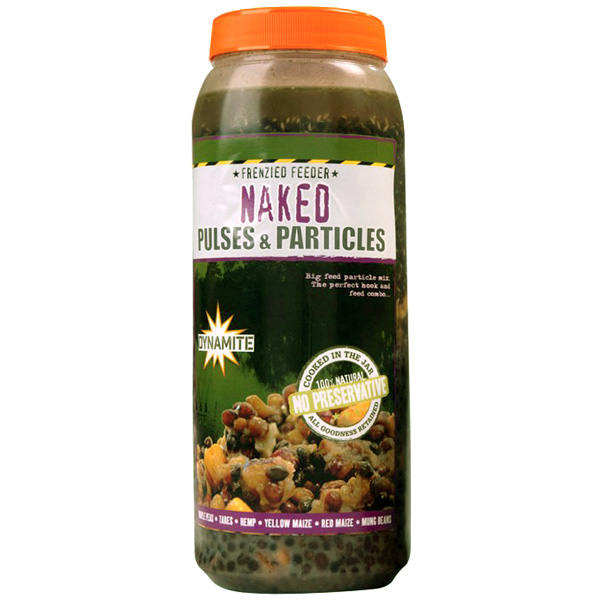 Dynamite Baits Frenzied Naked Pulses & Particles Mix Jar